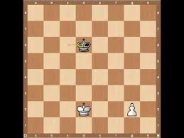 Chess Endgames- King and Pawn - YouTube