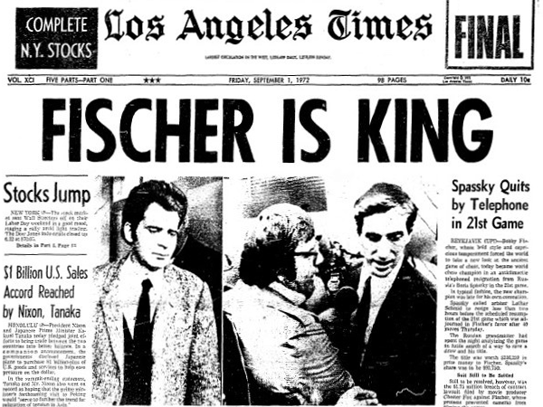 אפולו 11 – אלוף העולם בשחמט בובי פישר חלק ג' ואחרון – יוסטון המשימה הושלמה/שחר אלוני