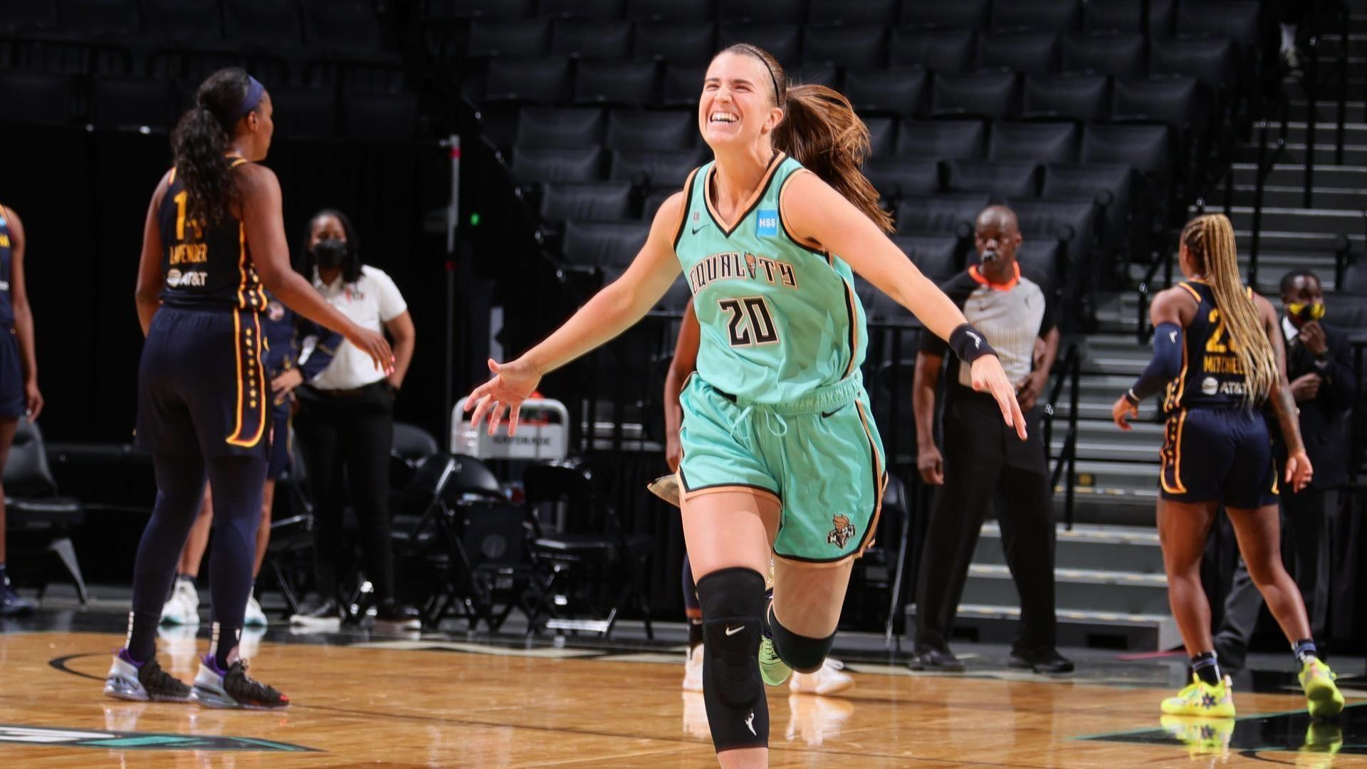 שני סלי ניצחון בליל הפתיחה / WNBA, משחקי ה-14 במאי / יאן מלניקוב